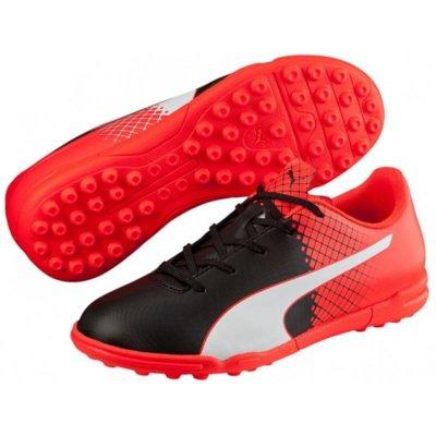 Buty PUMA EvoSpeed 5.5 TT 103630-03 (rozmiar 37.5) Czarno-czerwono-biały Electro 381262