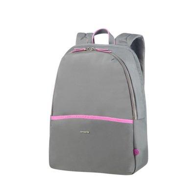 Plecak na laptopa SAMSONITE Nefti 14.1 cali Szaro-różowy Electro e1010396