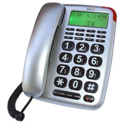 Telefon DARTEL LJ-290 Srebrny Electro 878081