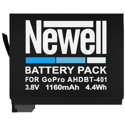 Akumulator NEWELL 1160 mAh do GoPro AHDBT-401 Electro 341894