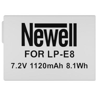 Akumulator NEWELL 1120 mAh do Canon LP-E8 Electro 336587