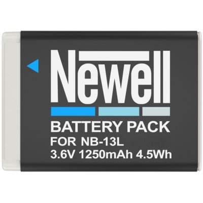 Akumulator NEWELL 1250 mAh do Canon NB-13L Electro 336802