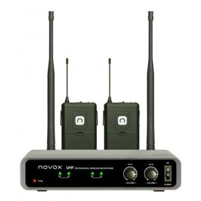 Zestaw bezprzewodowy NOVOX Free B2 z dwoma mikrofonami Electro 877693