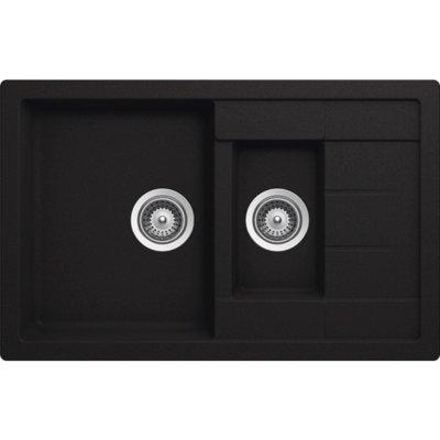Zlewozmywak SCHOCK Manhattan D-150S Onyx Electro 373122