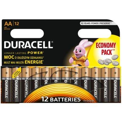 Baterie AA LR6 DURACELL Basic (12 szt.) Electro 873739
