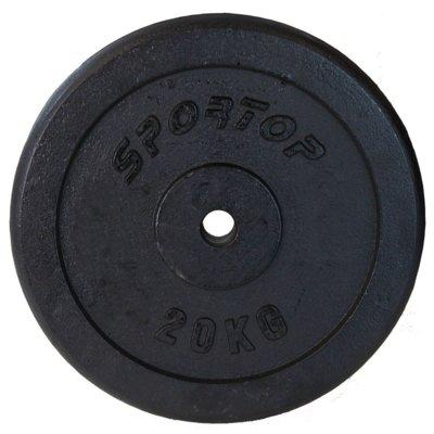 Obciążenie SPORTOP Fi28 (20 kg) Electro 498638