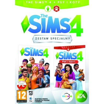 The Sims 4 + Dodatek Psy i Koty Gra PC Electro 876691