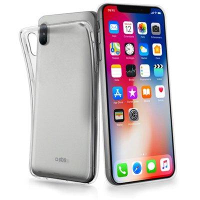 Etui SBS Cover Skinny do iPhone X Przezroczysty Electro 352307