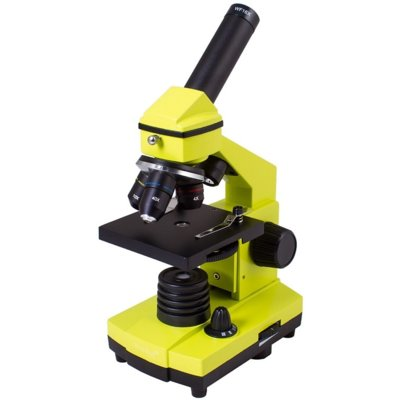 Mikroskop LEVENHUK Rainbow 2L PLUS Limonkowy