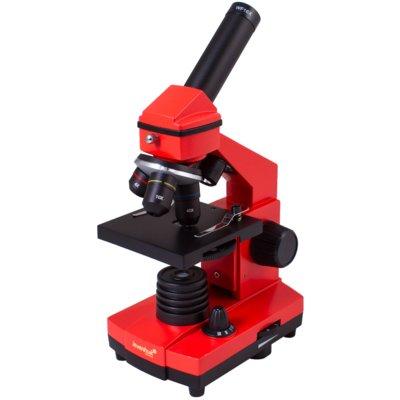 Mikroskop LEVENHUK Rainbow 2L Plus Pomarańczowy
