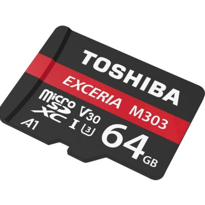 Karta pamięci TOSHIBA microSD M303 64 GB THN-M303R0640E2 Electro 882945