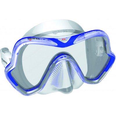 Maska do nurkowania MARES One Vision Niebiesko-przezroczysty Electro 434751
