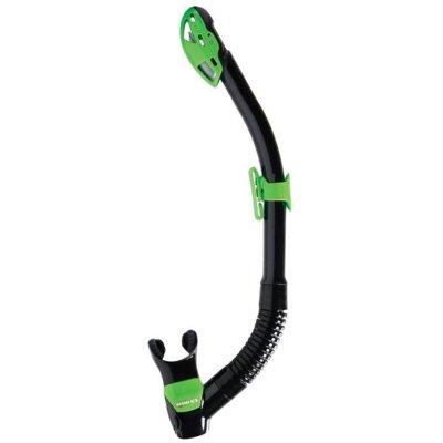 Fajka do nurkowania MARES Rebel Dry 411487 Czarno-zielony Electro 634099