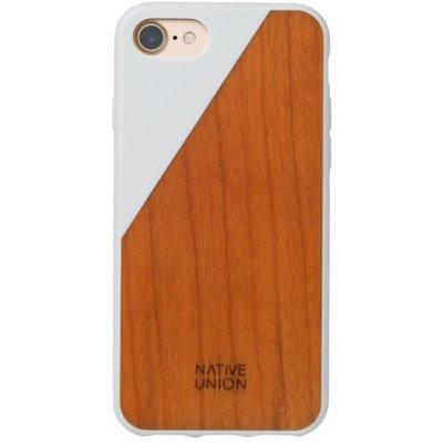 Etui NATIVE UNION Clic Wooden do Apple iPhone 7/8/SE 2020 Biały Electro 967029