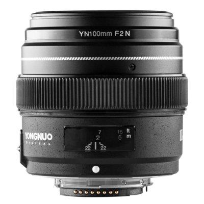 Obiektyw YONGNUO YN 100mm f/2.0 do Nikon F Electro 365072