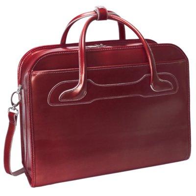 Torba na laptopa  MCKLEIN Willowbrook 17 cali Czerwony