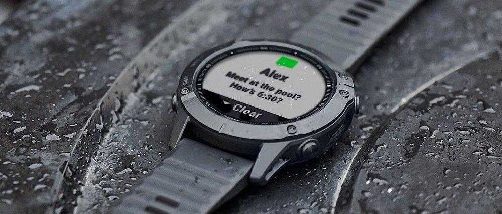 Спортивні годинник GARMIN Fenix 6, матеріали, міцність виготовлення