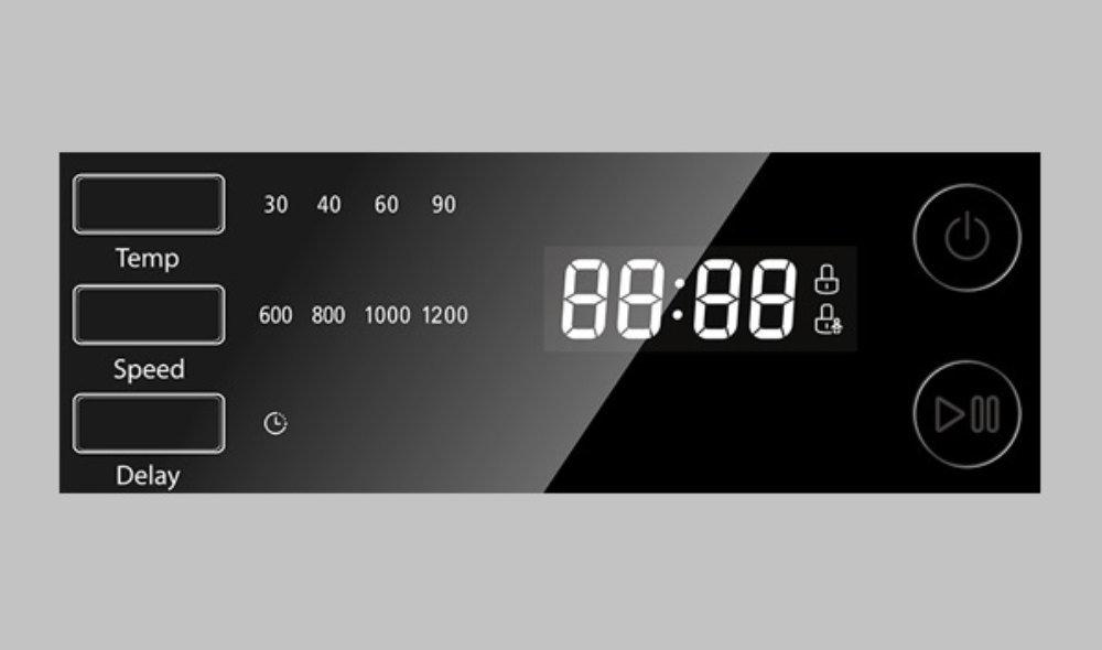 Pralka TOSHIBA TW-BJ90S2PL - Wyswietlacz LED Digital