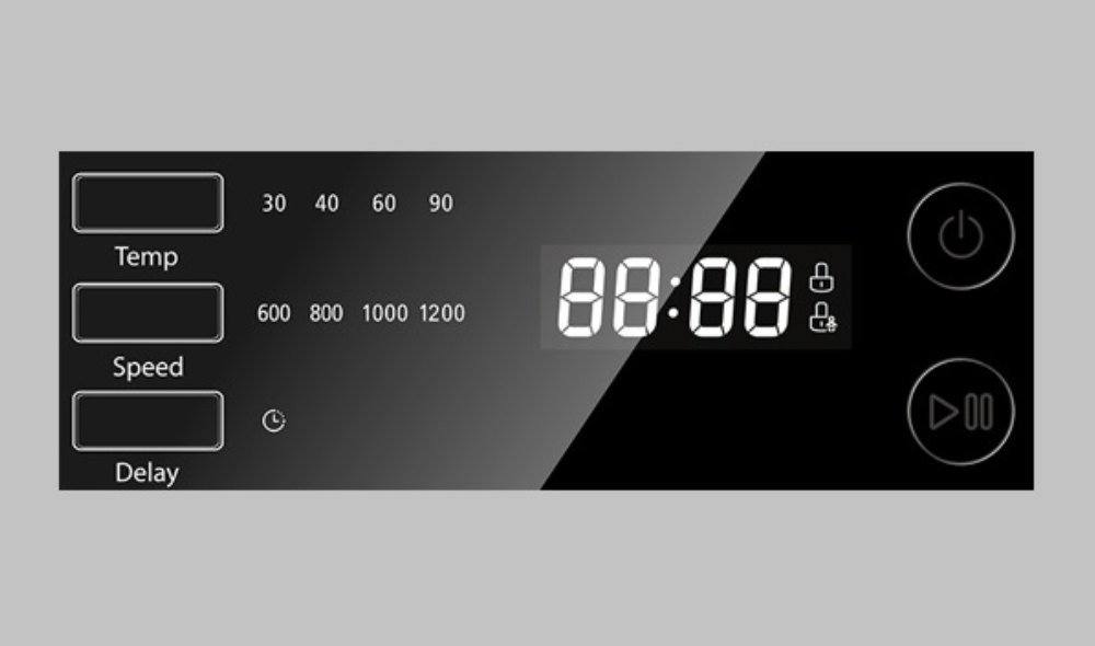Pralka TOSHIBA TW-BJ100M4PL - Wyswietlacz LED Digital