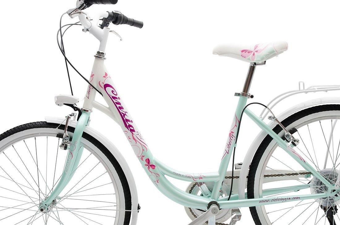 Rower Miejski CINZIA Liberty 24 - Rama