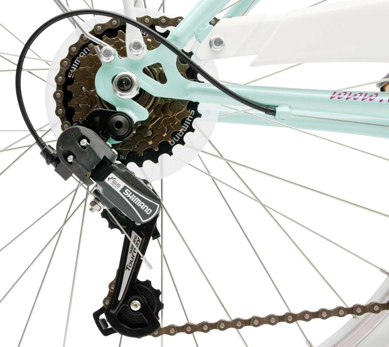 Rower Miejski CINZIA Liberty 24 - Przerzutki