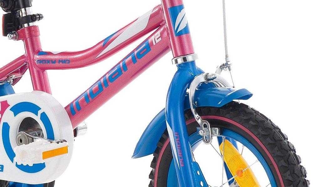 Rower INDIANA Rock Kid 12 hamulce bezpieczny hamowanie skrecanie