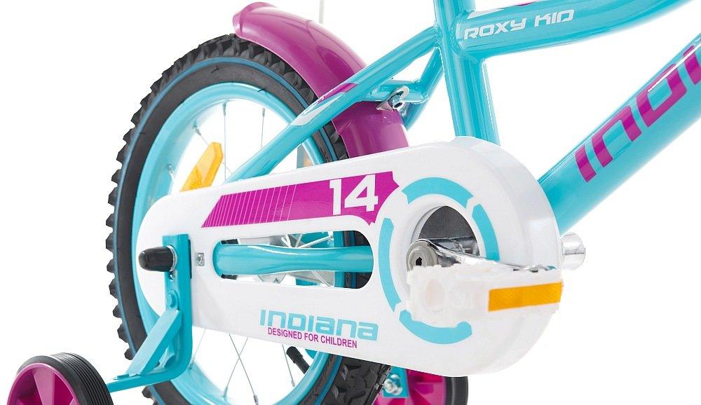 Rower INDIANA Rock Kid 14 jakosc rama wykonanie