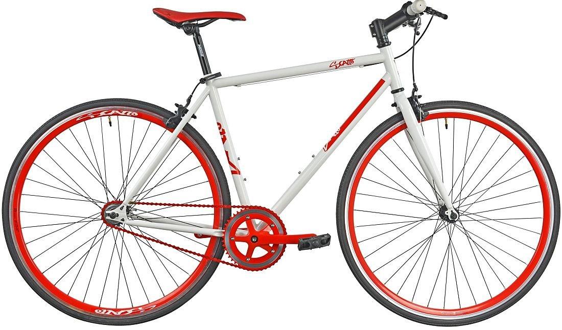 Rower Szosowy ESPERIA Ostre Kolo Scatto M19 Czerwony - Rower Szosowy