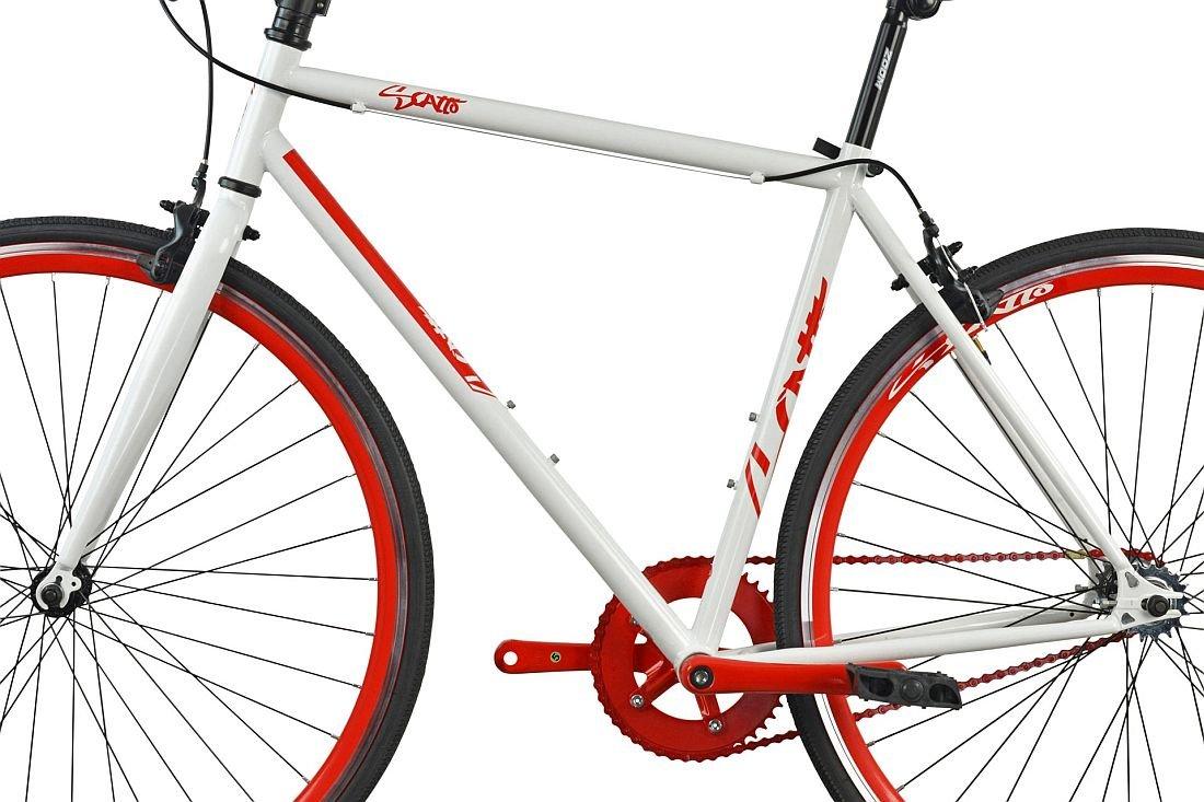 Rower Szosowy ESPERIA Ostre Kolo Scatto M19 Czerwony - Rama