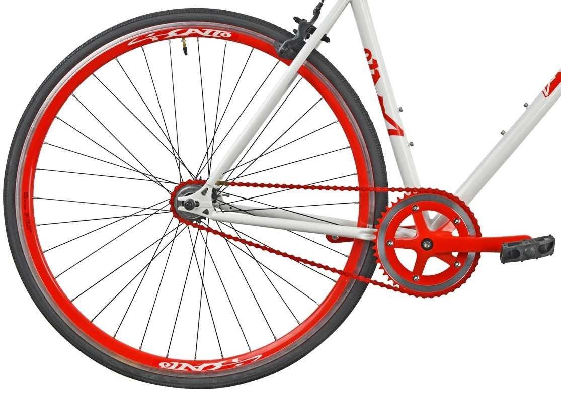 Rower Szosowy ESPERIA Ostre Kolo Scatto M19 Czerwony - kola