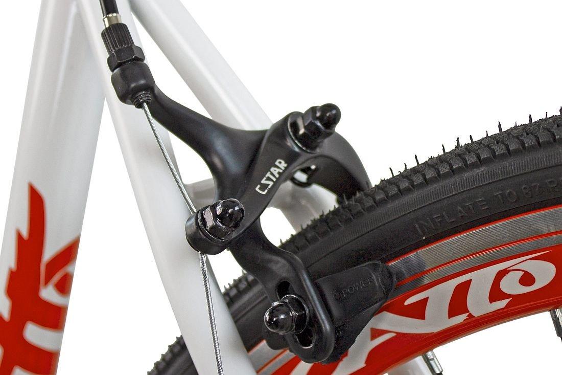 Rower Szosowy ESPERIA Ostre Kolo Scatto M19 Czerwony - Caliper