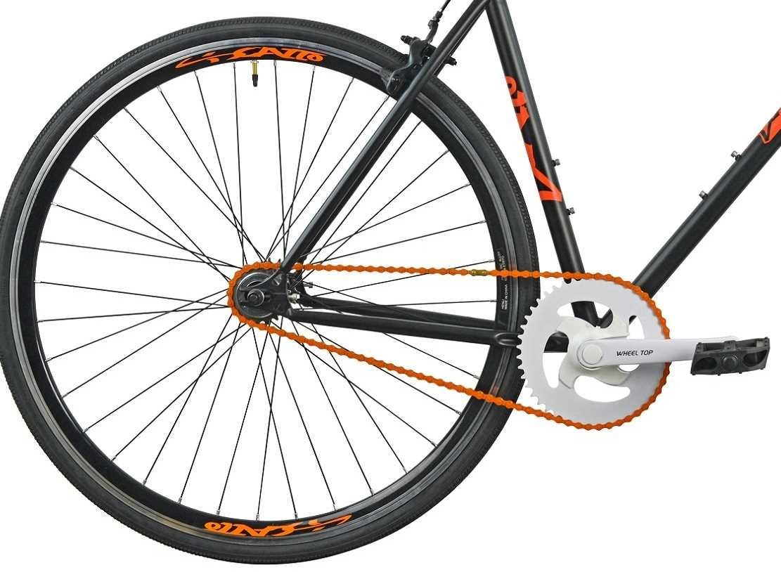 Rower Szosowy ESPERIA Ostre Kolo Scatto M19 Pomaranczowy - kola