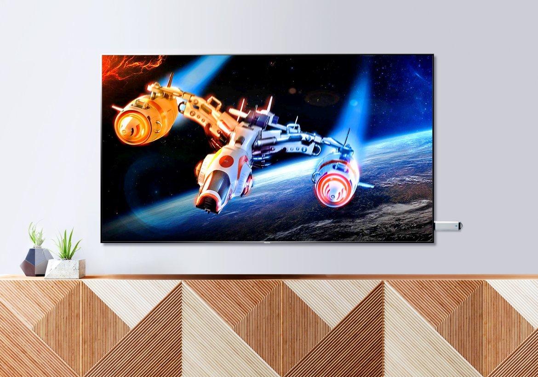 Telewizor HISENSE LED 55U8QF - USB Media