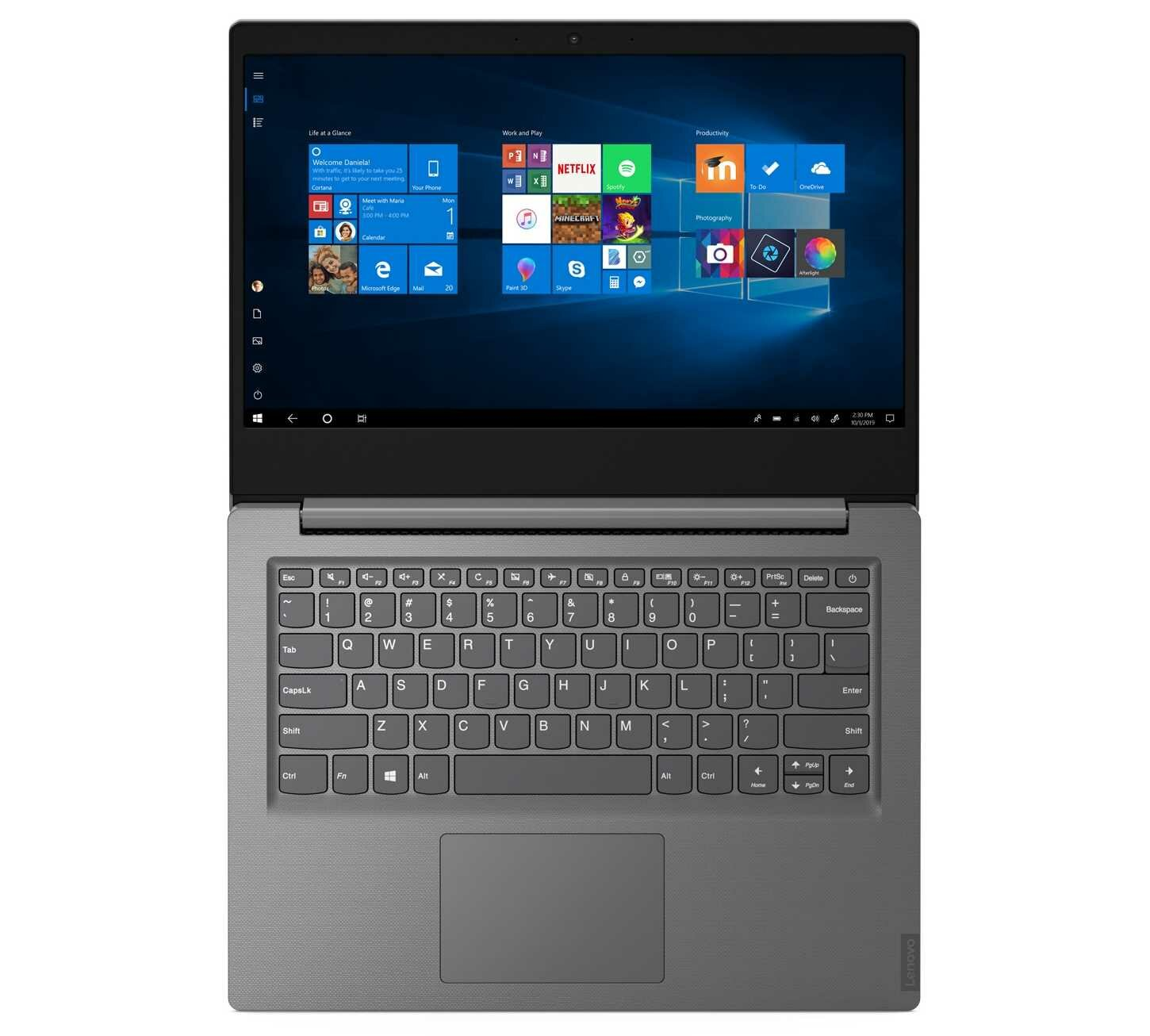 Laptop LENOVO V14 - Windows 10