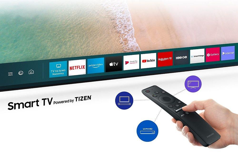 SAMSUNG LED UE75TU8002K TV - пульт