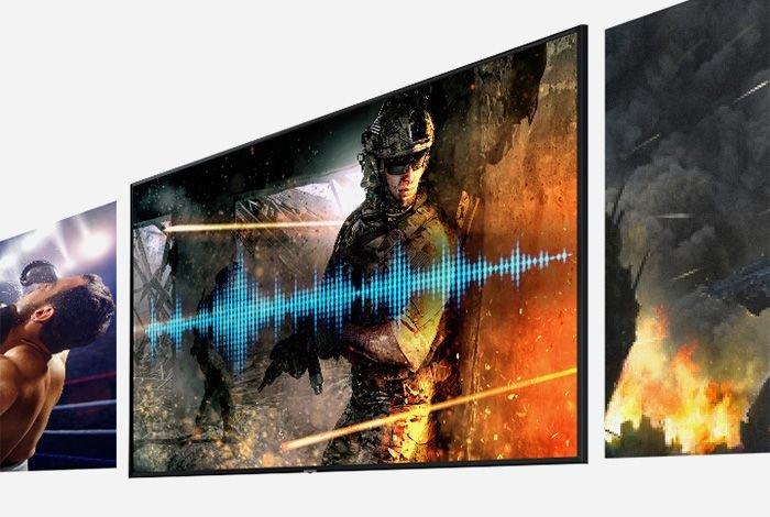 SAMSUNG LED UE75TU8002K TV - Улучшение игры