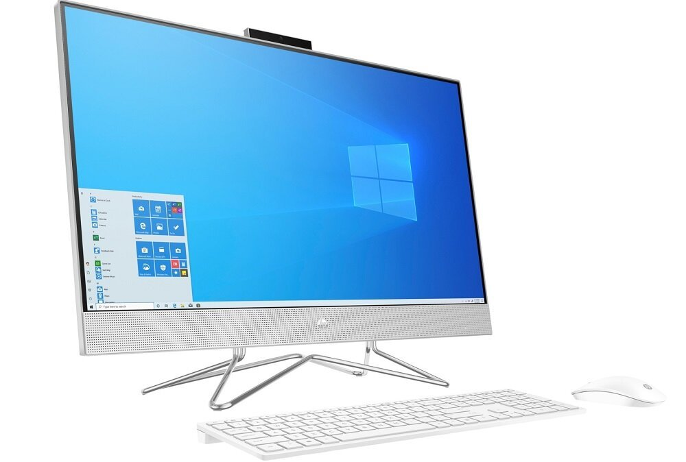 Komputer HP 27-DP0002NW - wygląd ogólny Intel Core i7 procesor taktowanie pamięć podręczna