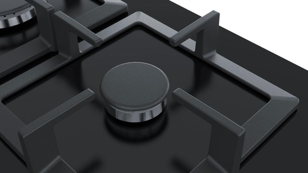 Газовая плита SIEMENS EP6A6PB20 - Чугунные решетки