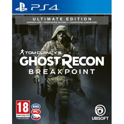 Tom Clancy's Ghost Recon: Breakpoint - Edycja Ultimate Gra PS4